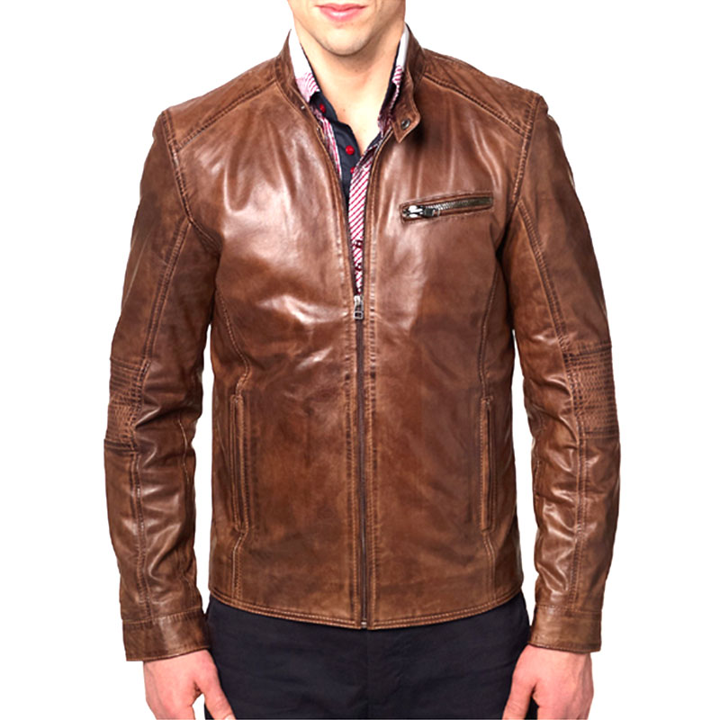 Men Leather jacket